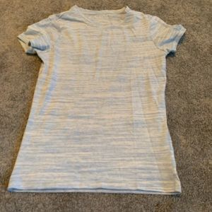 Aeropostale heather blue tee shirt